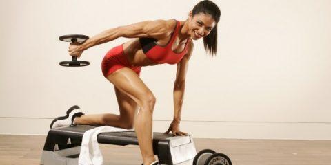 female body building