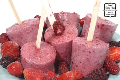 homemade smoothie pops