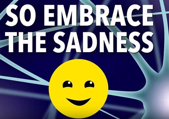 embrace sadness